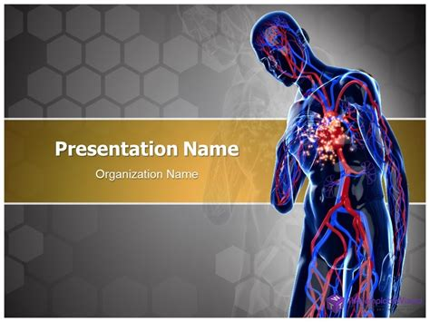 Free Cardiac Powerpoint Templates by Attack Powerpoint Presentation Template
