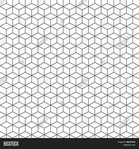 Pattern Cube Background Abstract Vector & Photo | Bigstock