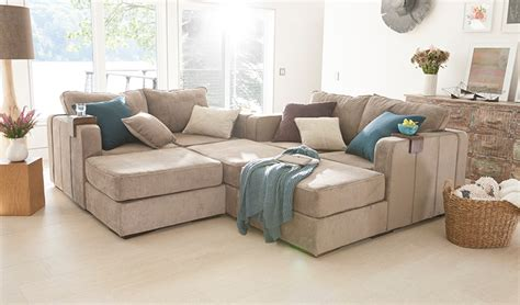 Used Lovesac Sactional by Large Modular Sectional 7 Seats 8 Sides Lovesac