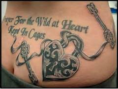 Matching Lock And Key Tattoo Designs Traditional heart lock with  Lock And Key Matching Tattoo Designs