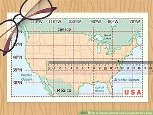 How To Read Latitude And Longitude On A Map  11 Steps