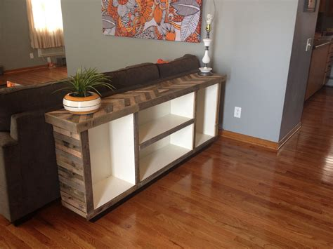 Remodel The Furniture With Diy Sofa Table