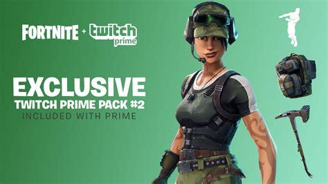 claim   fortnite twitch prime pack  loot