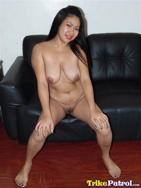 Chubby Mature Asian Rizza Shows Her Dark Nipples And Sucks On A Cock