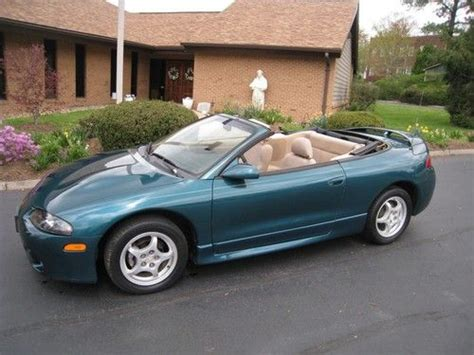 1998 Mitsubishi Eclipse Spyder Convertible by Buy Used 1998 Mitsubishi Eclipse Spyder Convertible