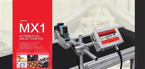 inkjet batch coding mx model manufacturer  supplier  india