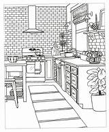 Coloring Colouring Adult Sheets Printable Kitchen Rooms Slideshow Bedroom Christianbook Decorate Living Drawing Dream Creative Drawings Inspired Adults Abstract Smoothie sketch template