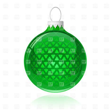 christmas tree decoration green christmas bauble 5410