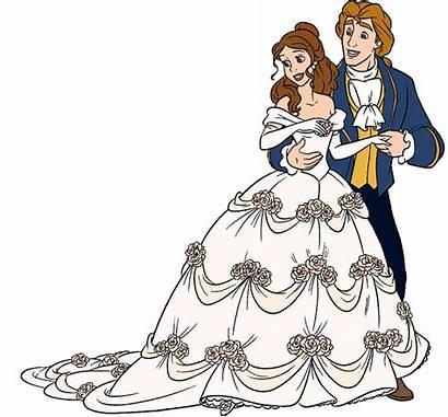 Belle Prince Disney Clipart Princess Adam Beast