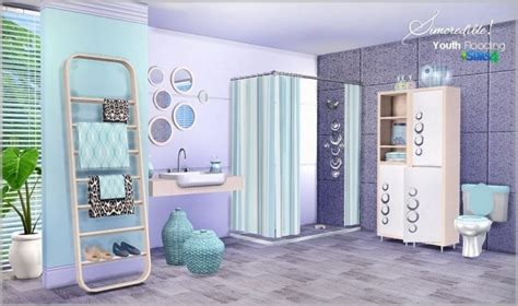 Youth Bathroom Decor by Youth Flooding Bathroom At Simcredible Designs 4 187 Sims 4