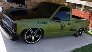 Military Paint Job Chevy Stepside Truck