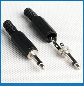 10pcs 1  8 U0026 39  3 5mm Mono Jack Plug Audio Solder Connectors