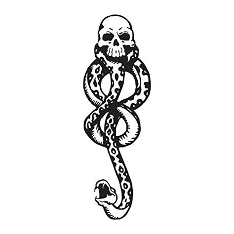 Harry Potter Death Eaters Dark Mark Tattoos For Cosplay