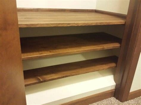 slanted closet floor due to stairway below don t waste