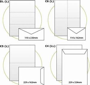 Envelope size guide for Letter size envelope measurements
