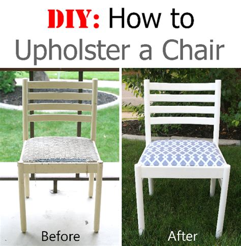 How To Upholster A Chair by Diy How To Upholster A Chair Is Beautiful