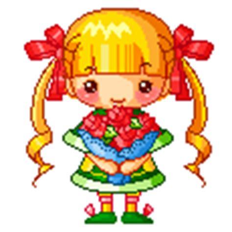 bosje bloemen plaatjes plaatje meisjes 187 animaatjes nl