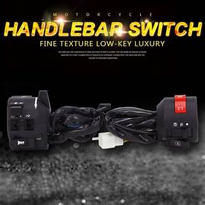 Motorcycle Headlight Flameout Lgnition Start Switch Handle