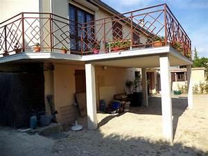 plan terrasse bois surelevee 10 ma231onnerie et With plan terrasse bois surelevee