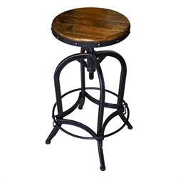 floor and decor warehouse industrial bar stool