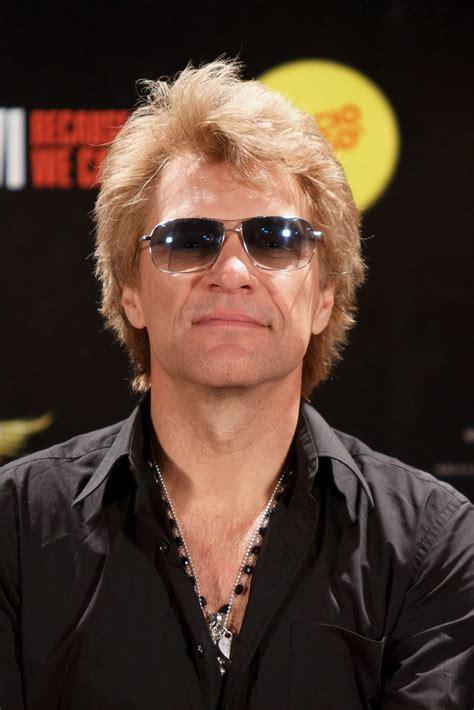 Jon Bon Jovi Photos Poses Before His