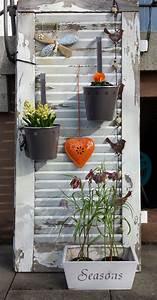 fruhling pinteres With französischer balkon mit alte fensterläden im garten