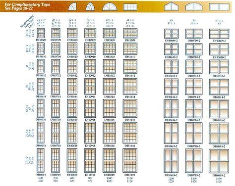 window sizes rough opening  window sizes