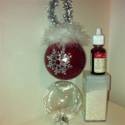 decorate clear ornaments glass christmas ornaments