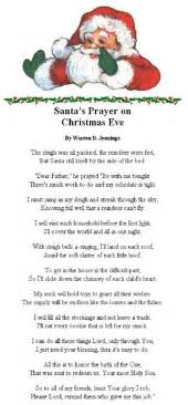 Halloween Acrostic Poem Ideas by Santas Prayer On Christmas Eve Pictures Photos And