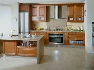 Muebles, De, Madera, Para, Cocinas