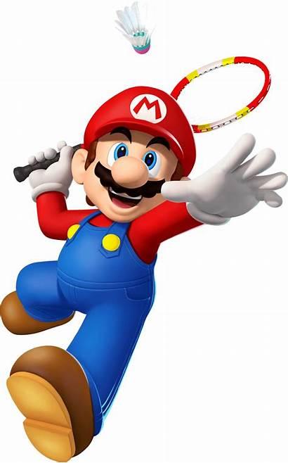 Mario Sonic Badminton London Games Olympic Characters