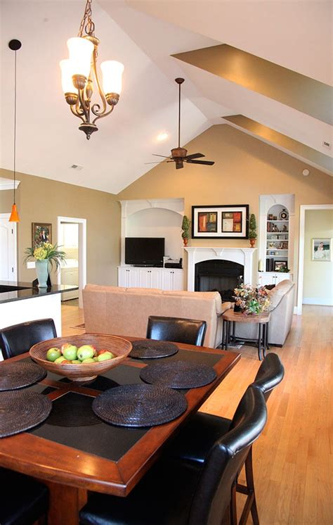 house plans with vaulted great room great room of the summerhill plan 1090 www dongardner com vaulted ceilings offer vertical