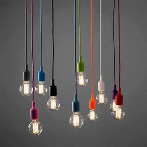 Coloured cord pendant lights tequestadrum