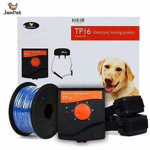 janpet rechargeable electric fence for 2 dogs electronic With top rated electric dog fence