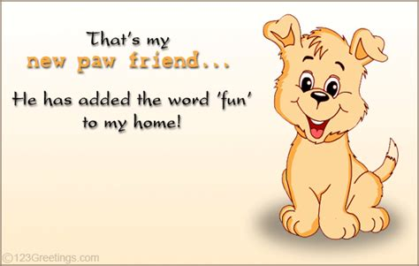 My New Friend! Free Announcement Ecards, Greeting Cards  123 Greetings