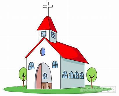 Church Clipart Cross Roof Religion
