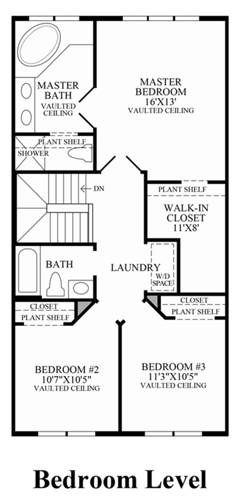 Centex Floor Plans 2001 by Ryland Townhome Floor Plans From 2001 Free Home Design