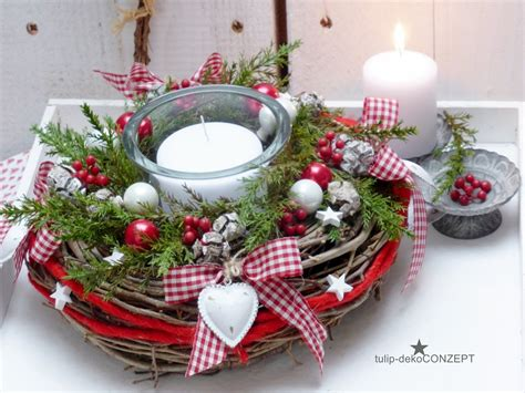 Weihnachtsgestecke Aus Holz by Zum Produkt Weihnavhten Weihnachtsdekoration Rotes
