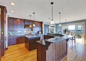 two level kitchen island designs 49 kitchen designs pictures designing idea