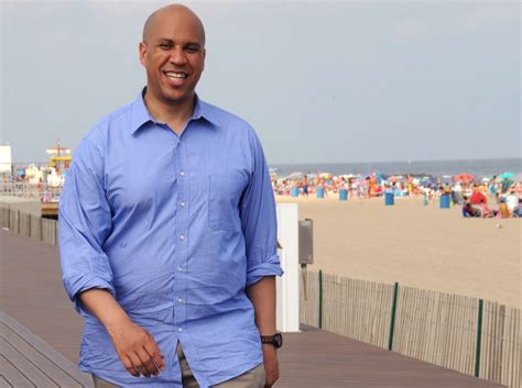 Once-fit Cory Booker packs on the pounds