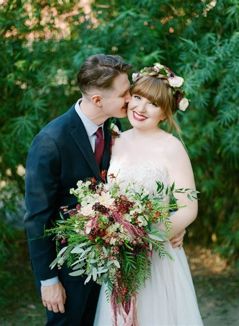 Florence and the Machine Inspired Louisiana Wedding   Junebug Weddings