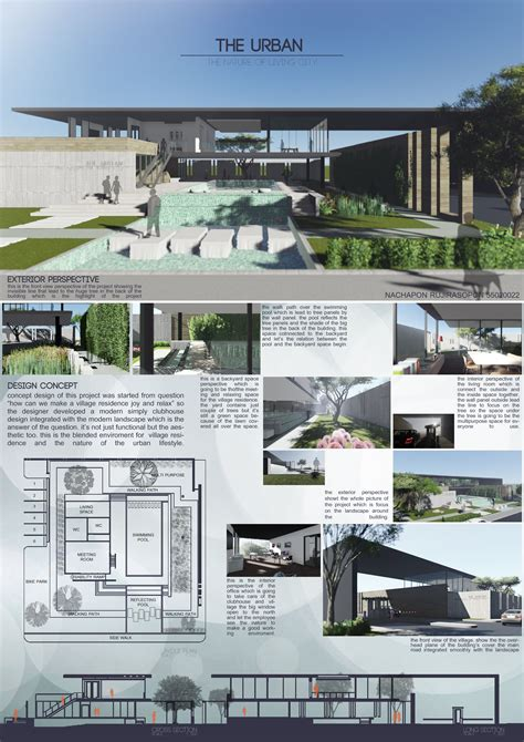 the clubhouse landscape design project faculty of architecture kmitl thailand