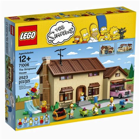 Libros Y Juguetes  1demagiaxfa Toys  Lego The Simpsons