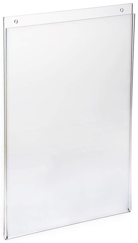 8 5 x 11 acrylic sign holder for table tops acrylic sign holder for wall for 8 5 quot x 11 quot graphics