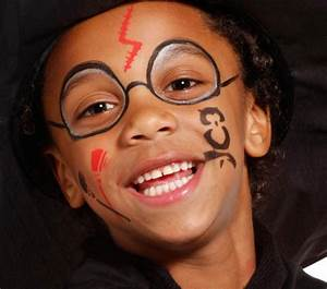 Maquillage Halloween Garcon : trucco di halloween per viso di bambini 65 idee con foto ~ Melissatoandfro.com Idées de Décoration