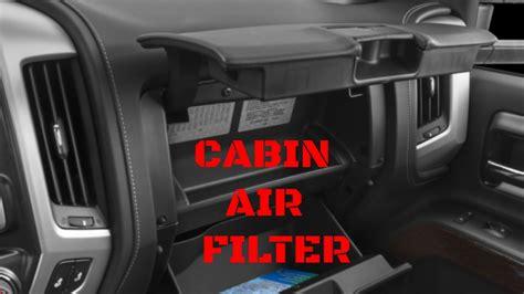 2012 silverado cabin air filter 2014 2017 gmc chevy silverado cabin air filter