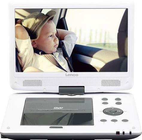 tragbarer dvd player 10 zoll tragbarer dvd player 25 4 cm 10 zoll lenco dvp 1063wh akkubetrieb inkl 12 v kfz anschlusskabel