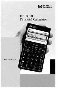 Hp 17bii Calculator Download Manual For Free Now