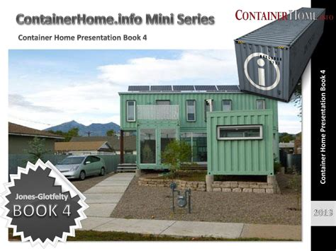 shipping container house plan  book