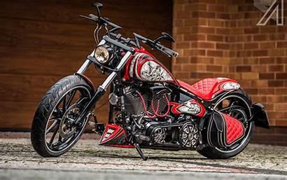 Harley Davidson Breakout Chopper Cool Motorcycle Softail
